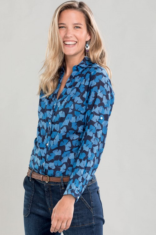 Chemise femme en coton