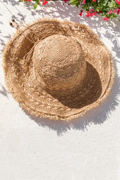 Chapeau de paille femme